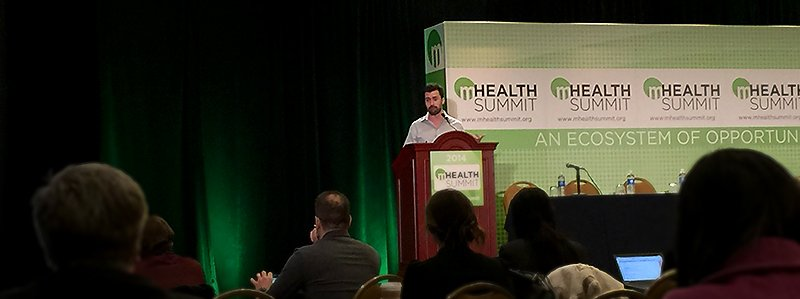 Mike Tinney Speaks at mHealth Conference